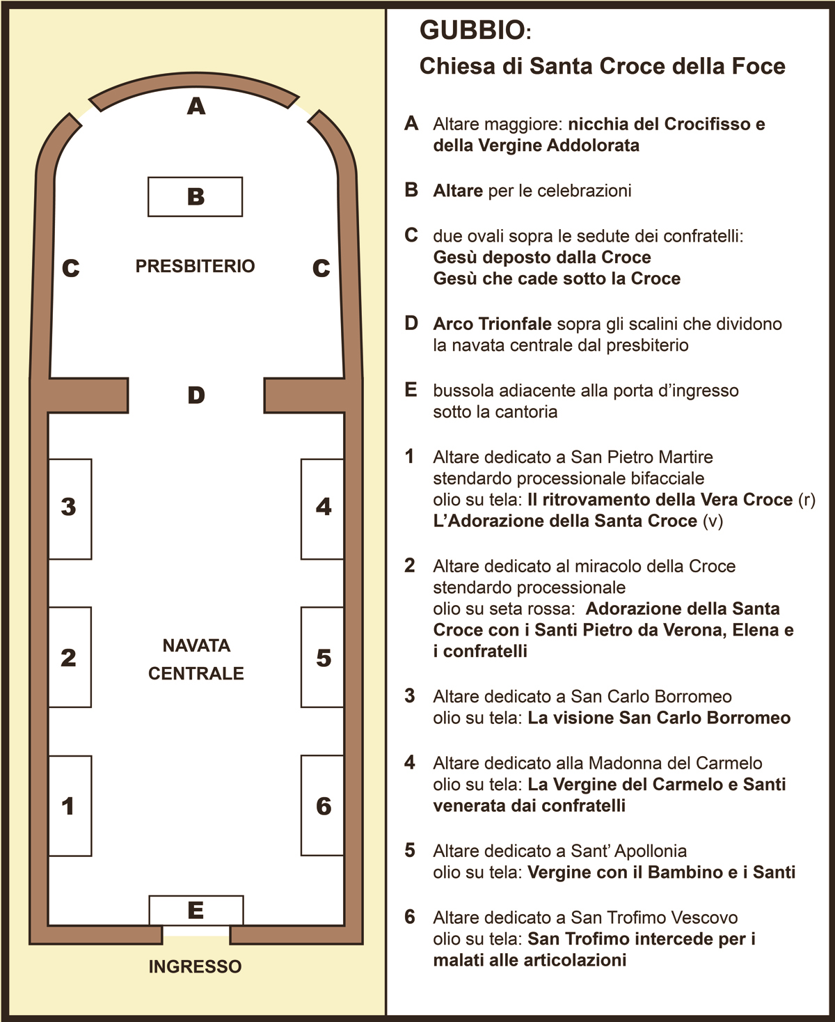 Pianta Cartina Santa Croce2
